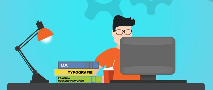 Jak (si) napsat web